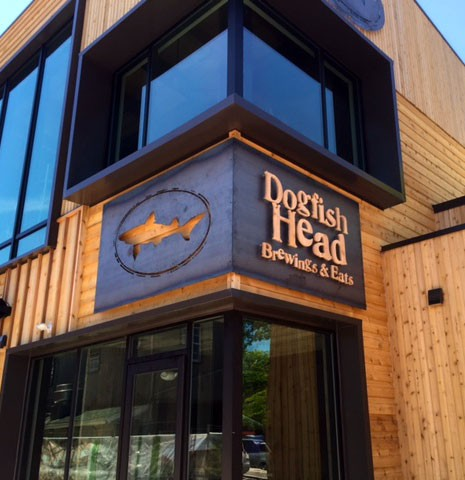 Dog Fish Building Sign - kent Signs Delaware
