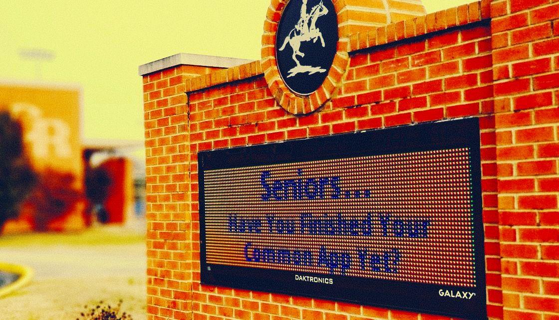 Kent Signs LED message centers Caesar Rodney High School