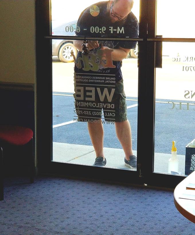 kent signs installation service delaware