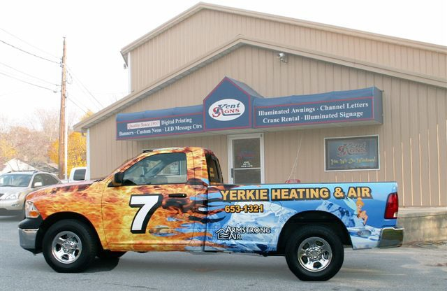 Vehicle Wraps in delaware kent signs